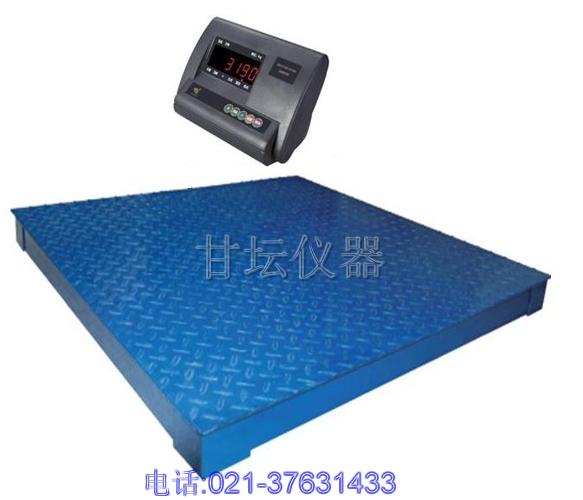 5吨集贸市场专用电子地磅,5吨打印电子地磅材质